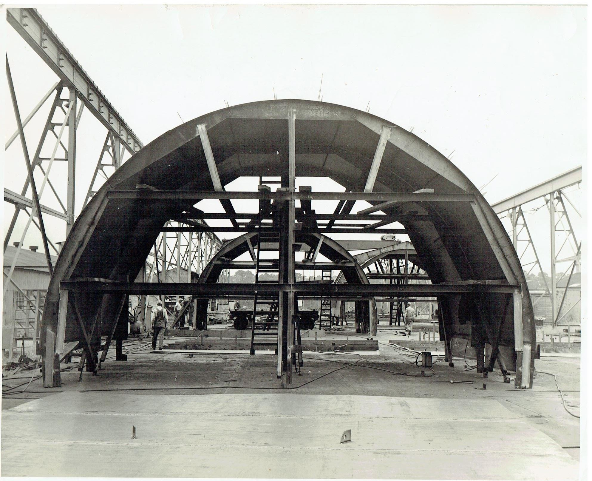Building of Washburn Tunnel 1949