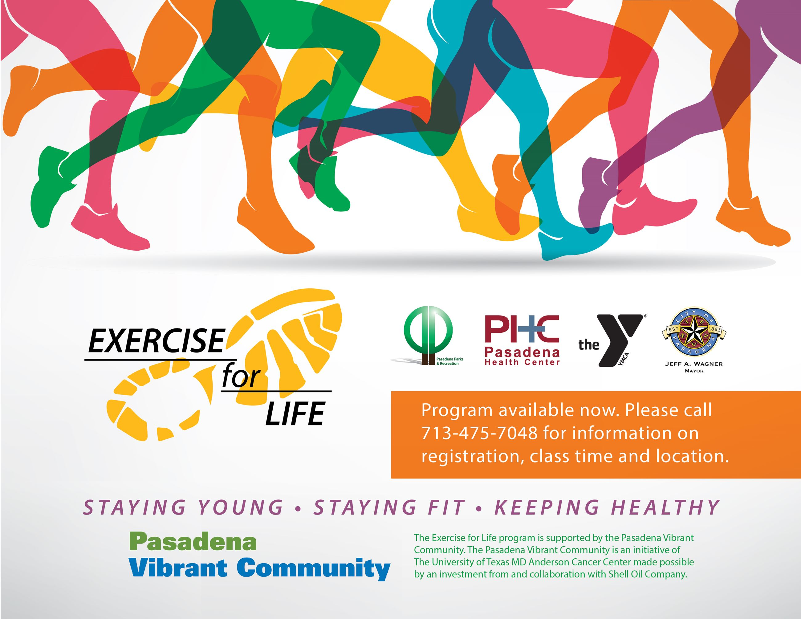 Exercise for Life Flier-May11