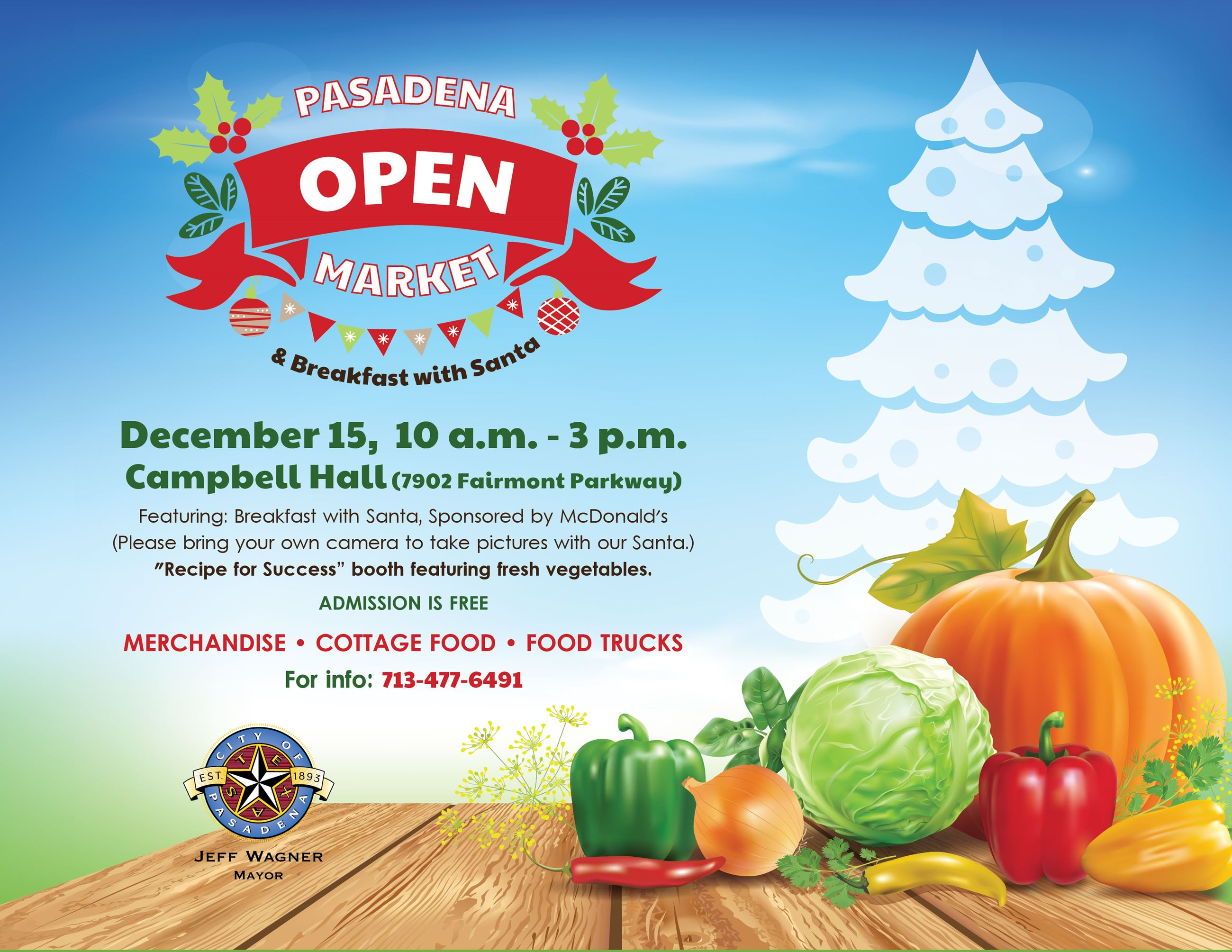 Open Market and Breakfast with Santa (JPG)