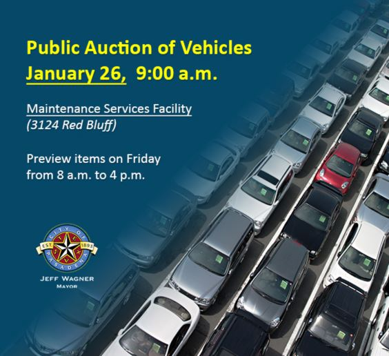 Picture of used vehicles and auction information