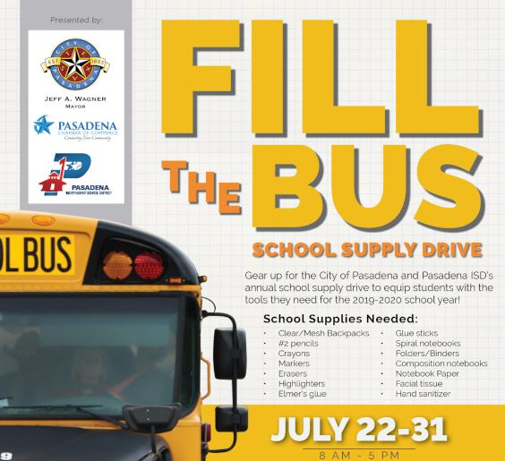 Fill the Bus 2019