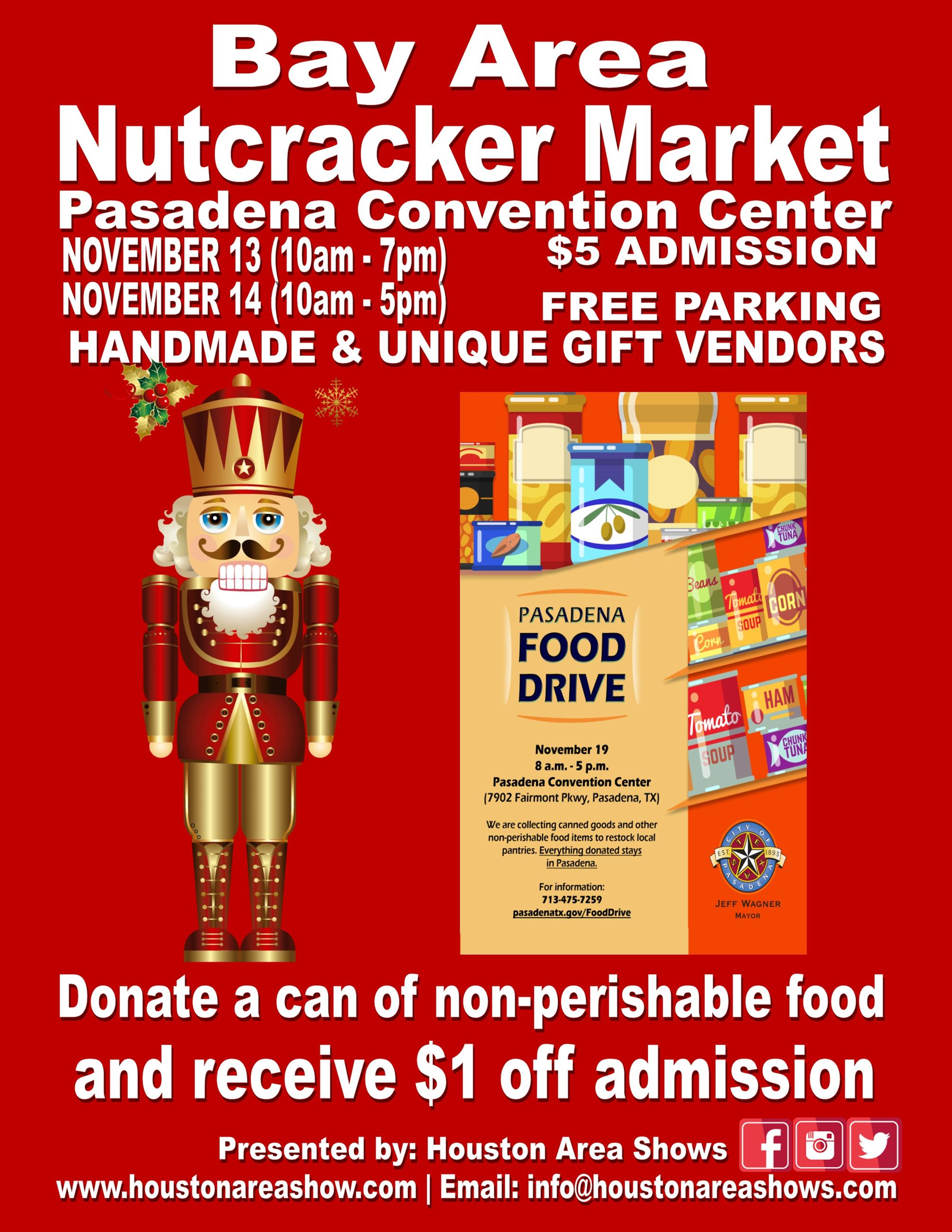 2020 Bay Area Nutcracker Market - holiday market in Pasadena